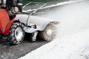 Snow Sweeper and Snow Blower