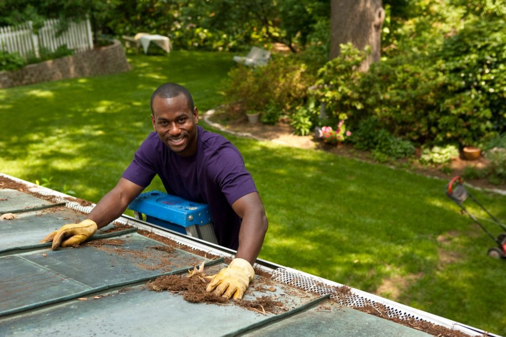 Gutter Cleaning Service Don's Lawn Care